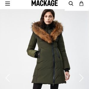 KAY by MACKAGE size Small worn only 1 season